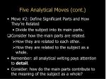 five analytical moves cont4