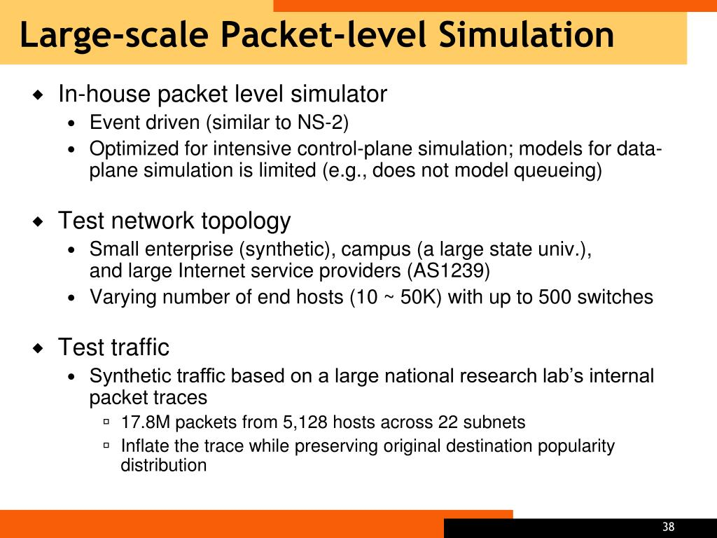 Large-scale Packet-level Simulation