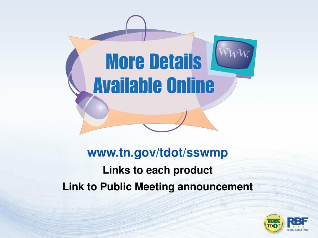 www.tn.gov/tdot/sswmp