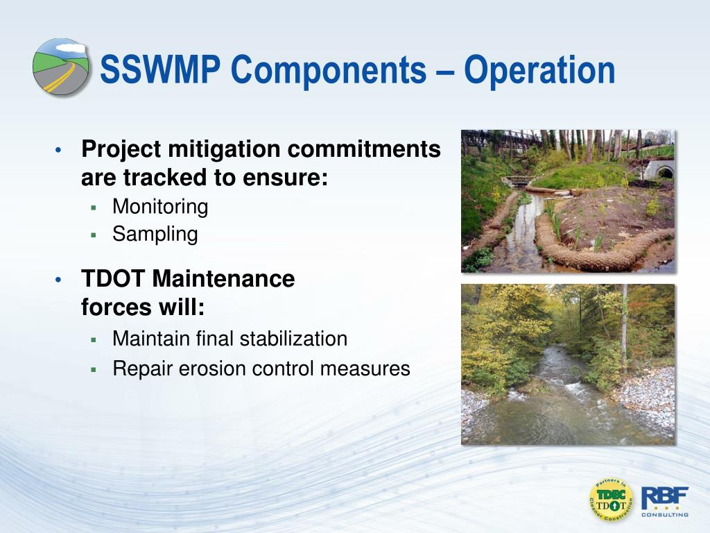 SSWMP Components – Operation