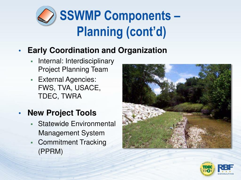SSWMP Components –