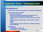 customer care amazon com