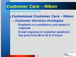 customer care nikon35