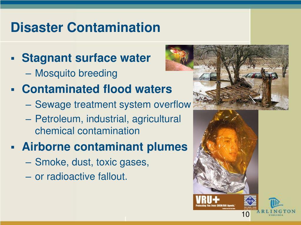 Disaster Contamination