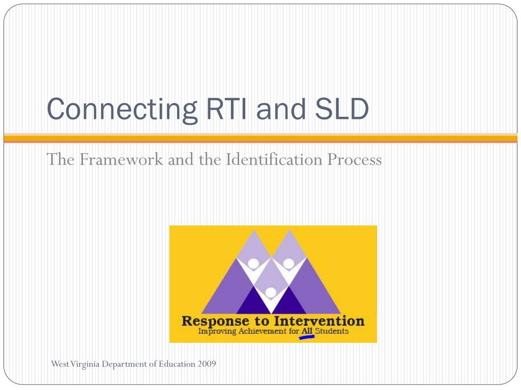 Connecting RTI and SLD