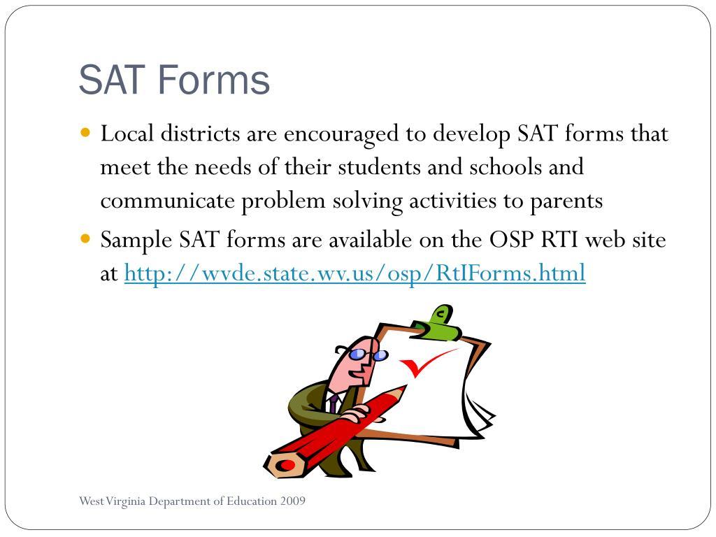 SAT Forms
