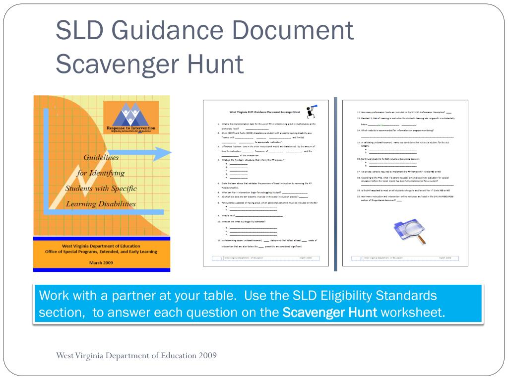 SLD Guidance Document