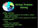virtual problem solving
