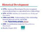 historical development4