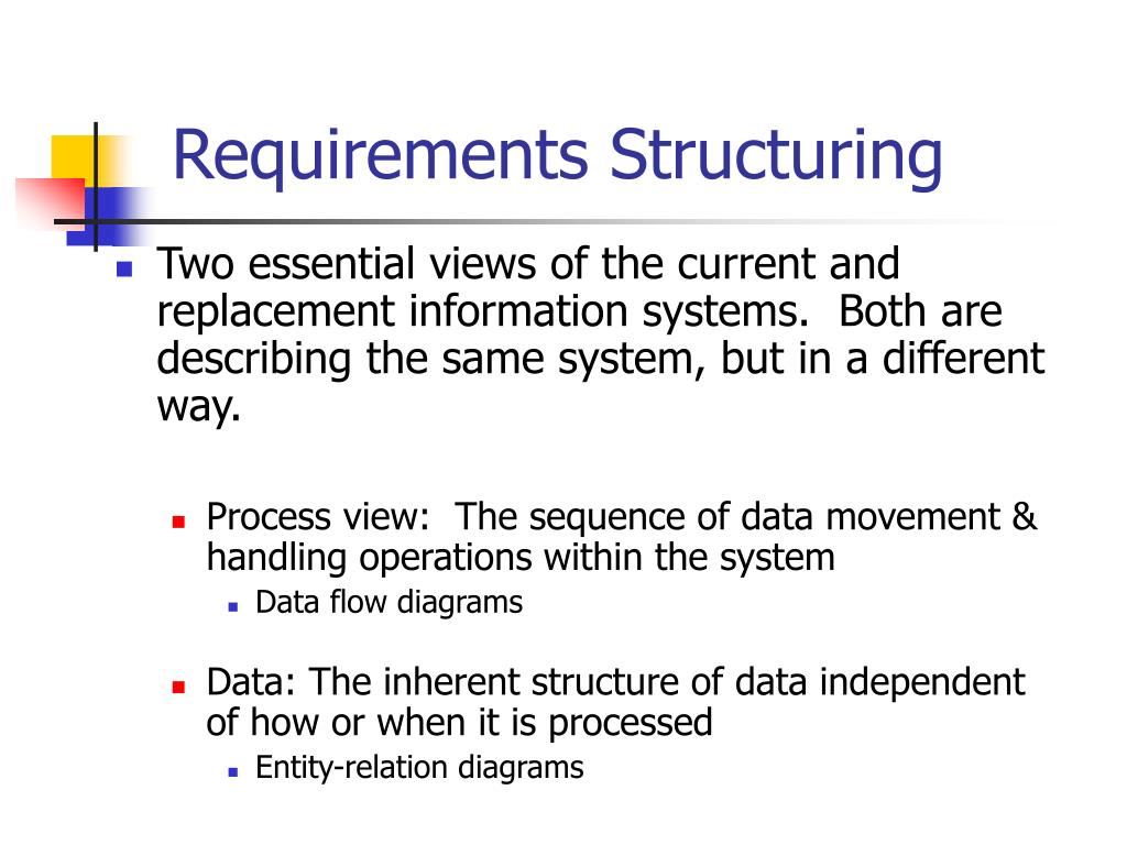 Requirements Structuring