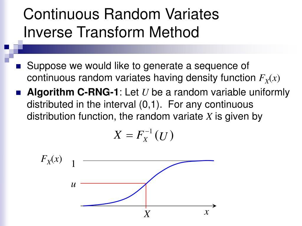 Continuous Random Variates