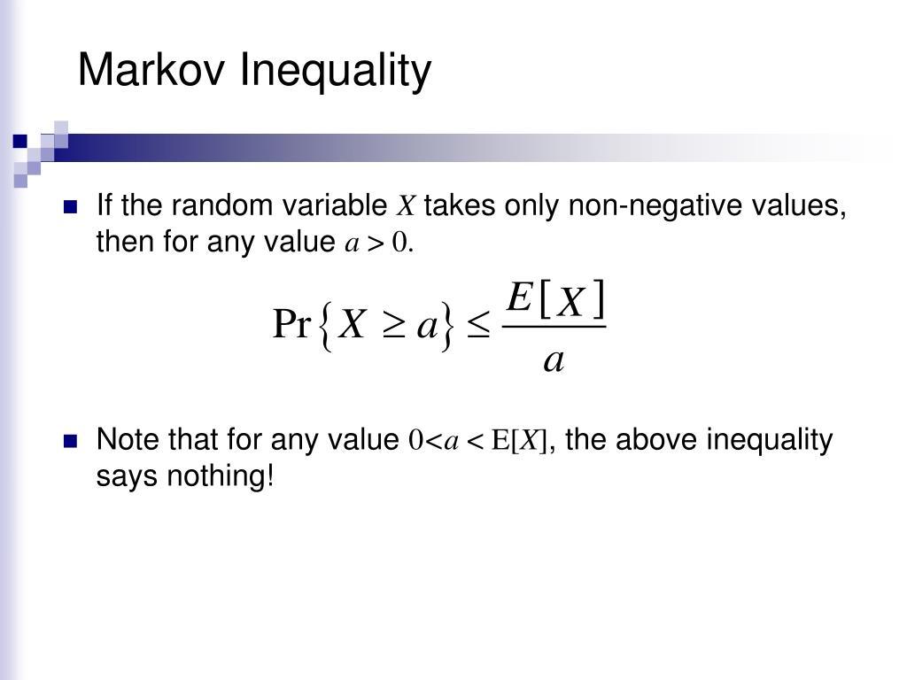 Markov Inequality