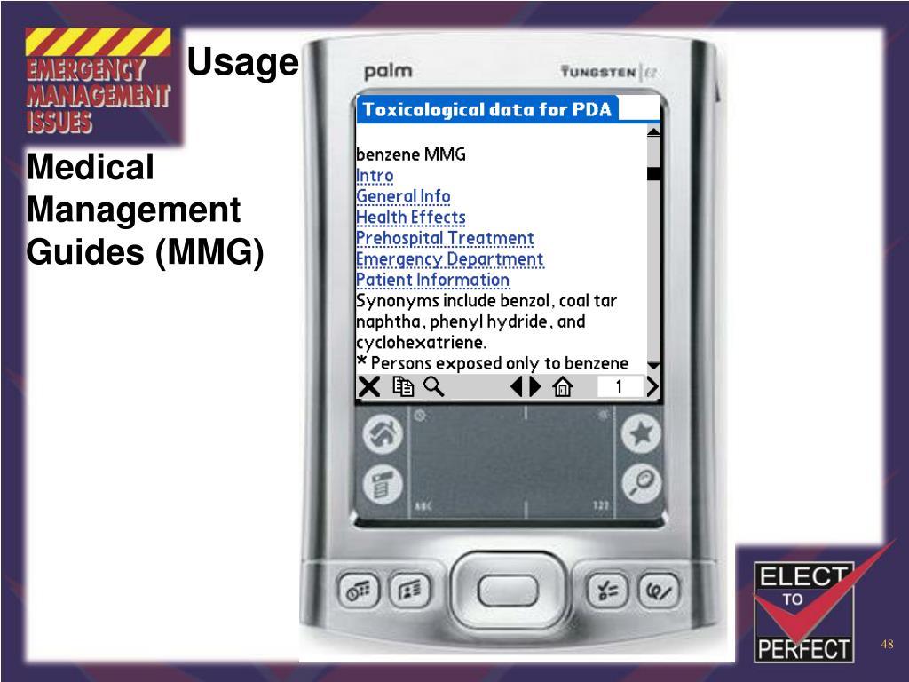 Medical Management Guides (MMG)