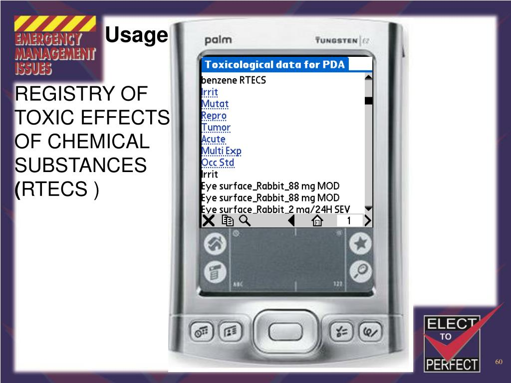 REGISTRY OF TOXIC EFFECTS OF CHEMICAL SUBSTANCES