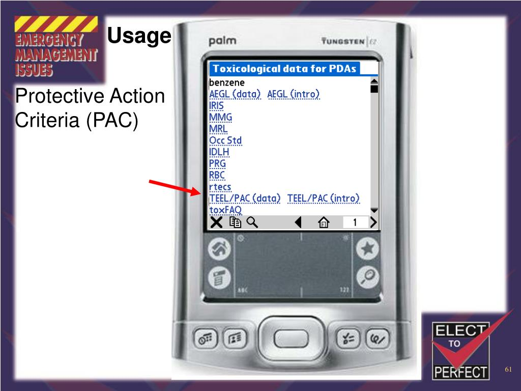 Protective Action Criteria (PAC)