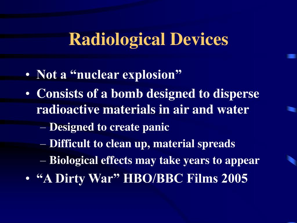 Radiological Devices