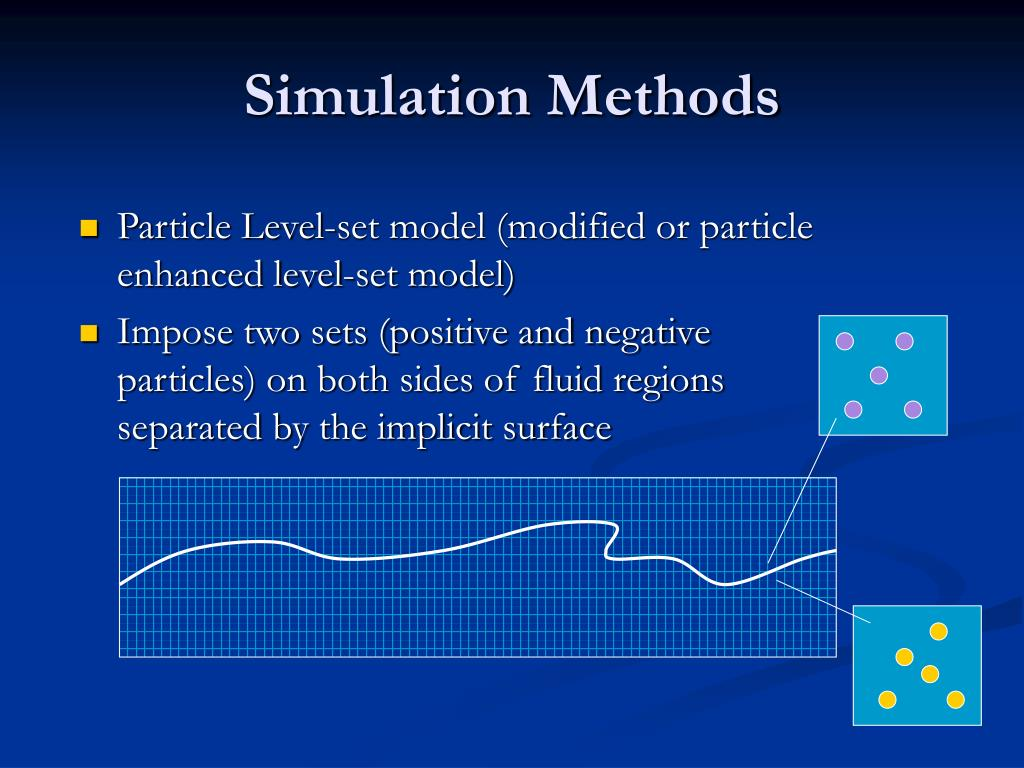 Simulation Methods