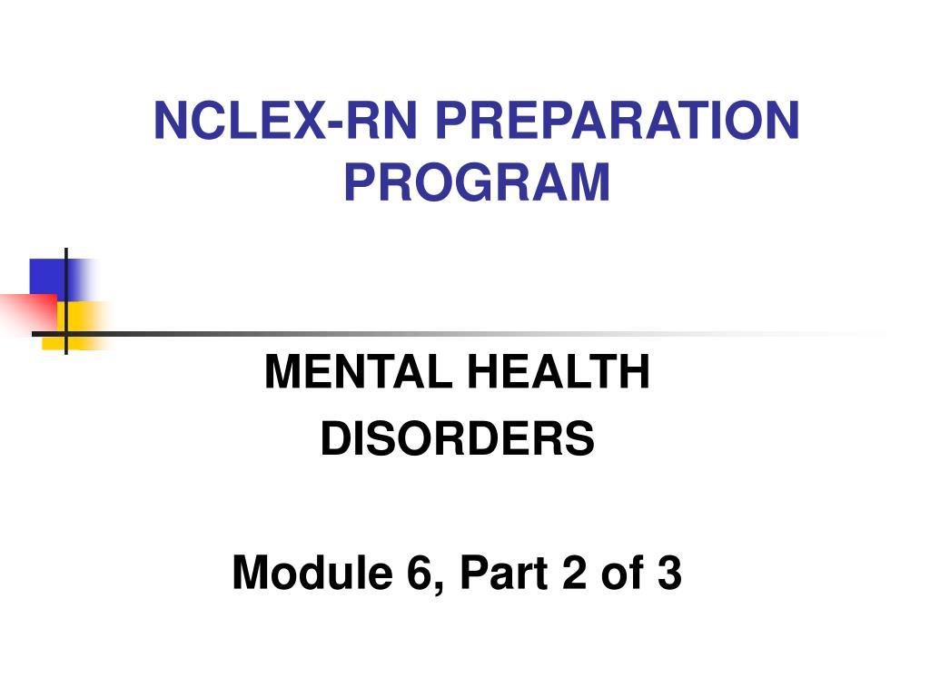 PPT - NCLEX-RN PREPARATION PROGRAM PowerPoint Presentation