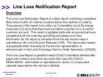 line loss notification report2