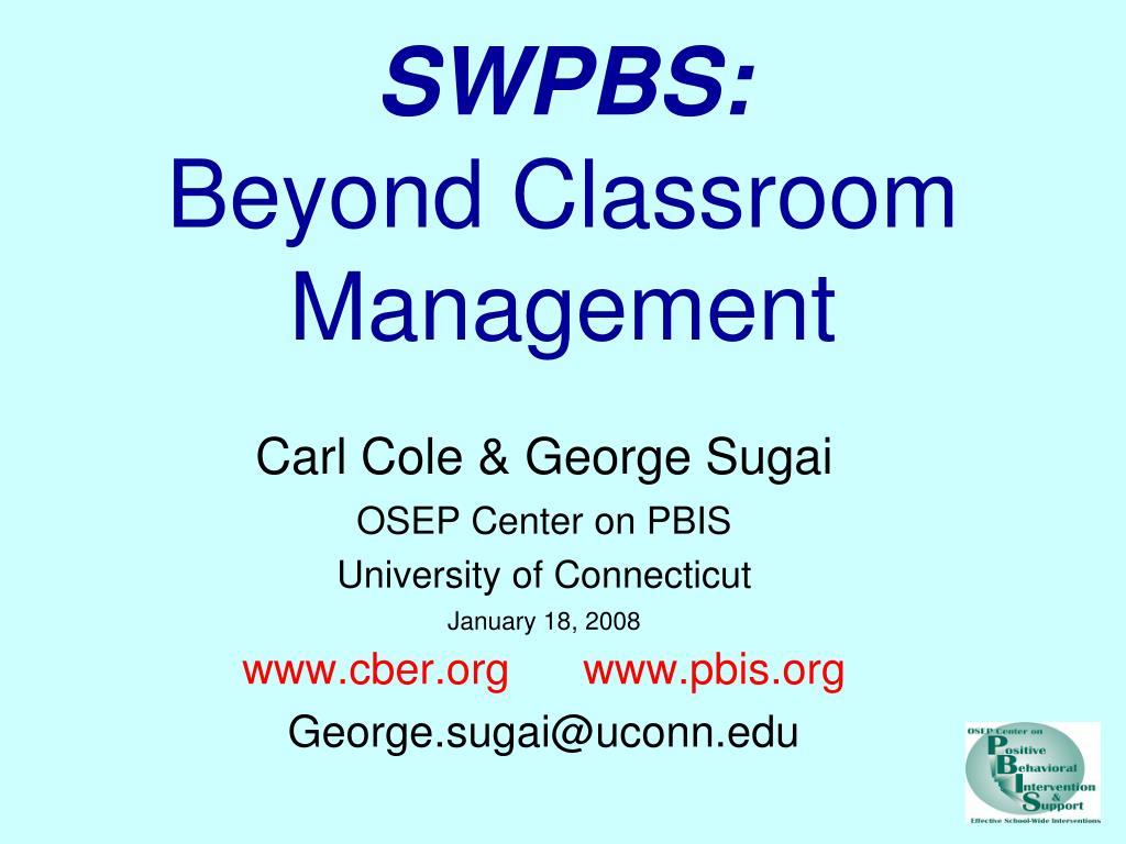 swpbs beyond classroom management