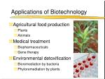 applications of biotechnology32