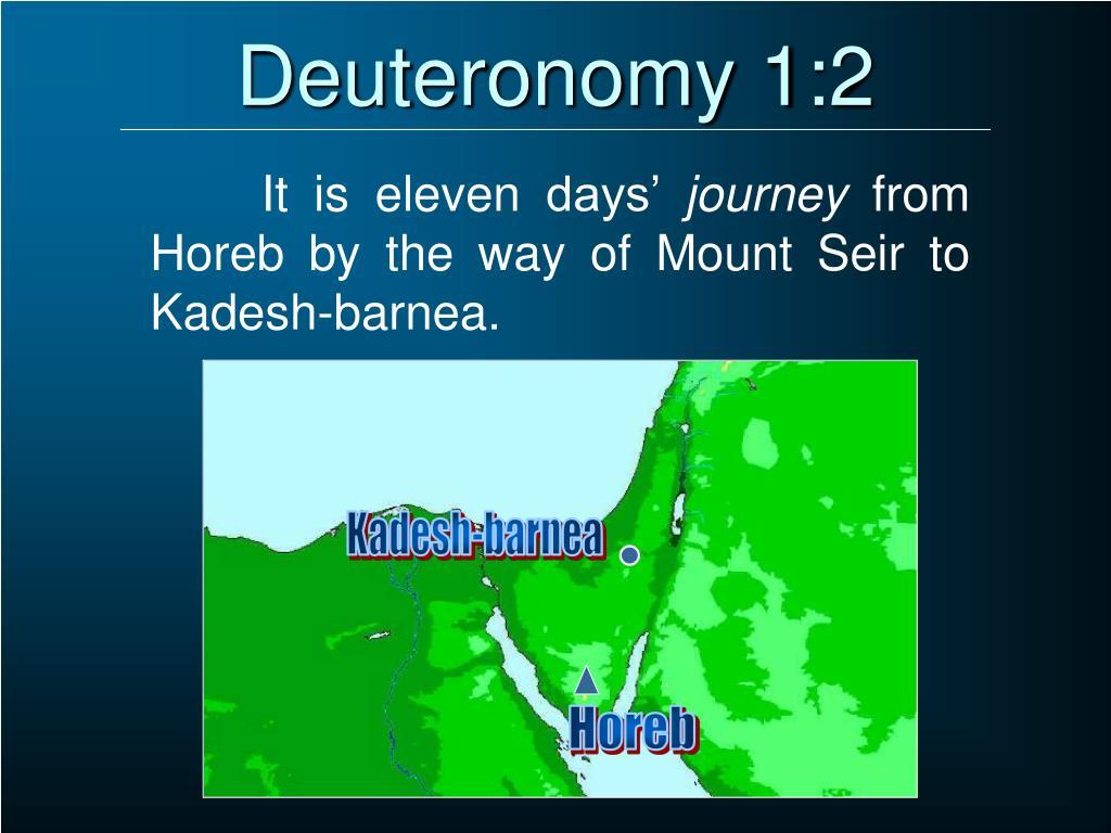 Deuteronomy 1:2