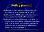 policy contd22