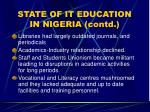 state of it education in nigeria contd13