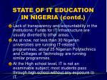 state of it education in nigeria contd15