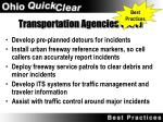 transportation agencies dot22