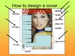 how to design a cover