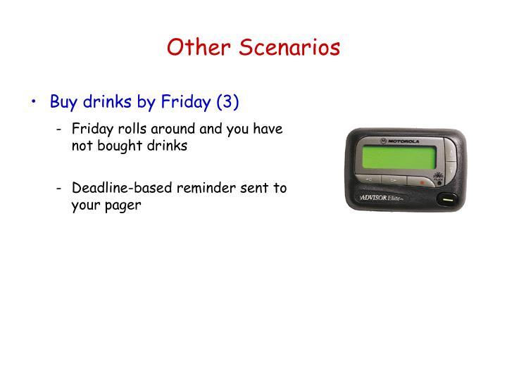 Other Scenarios