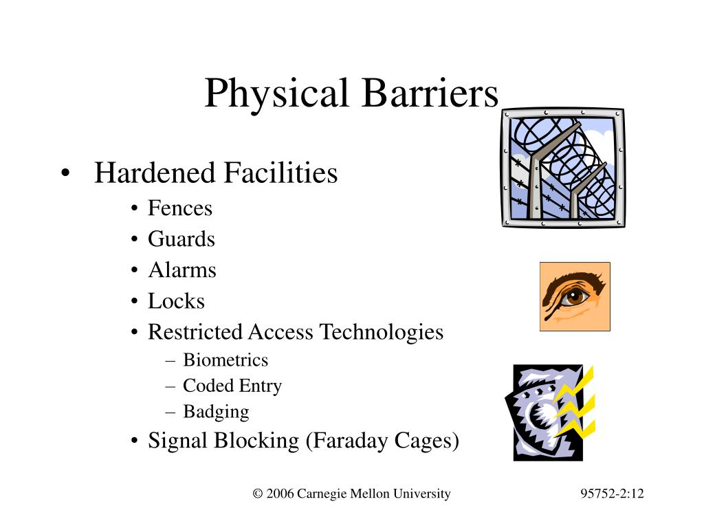 Physical Barriers