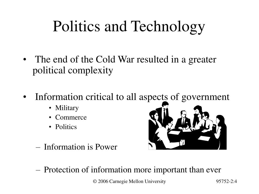 Politics and Technology