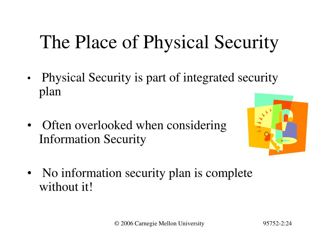 The Place of Physical Security