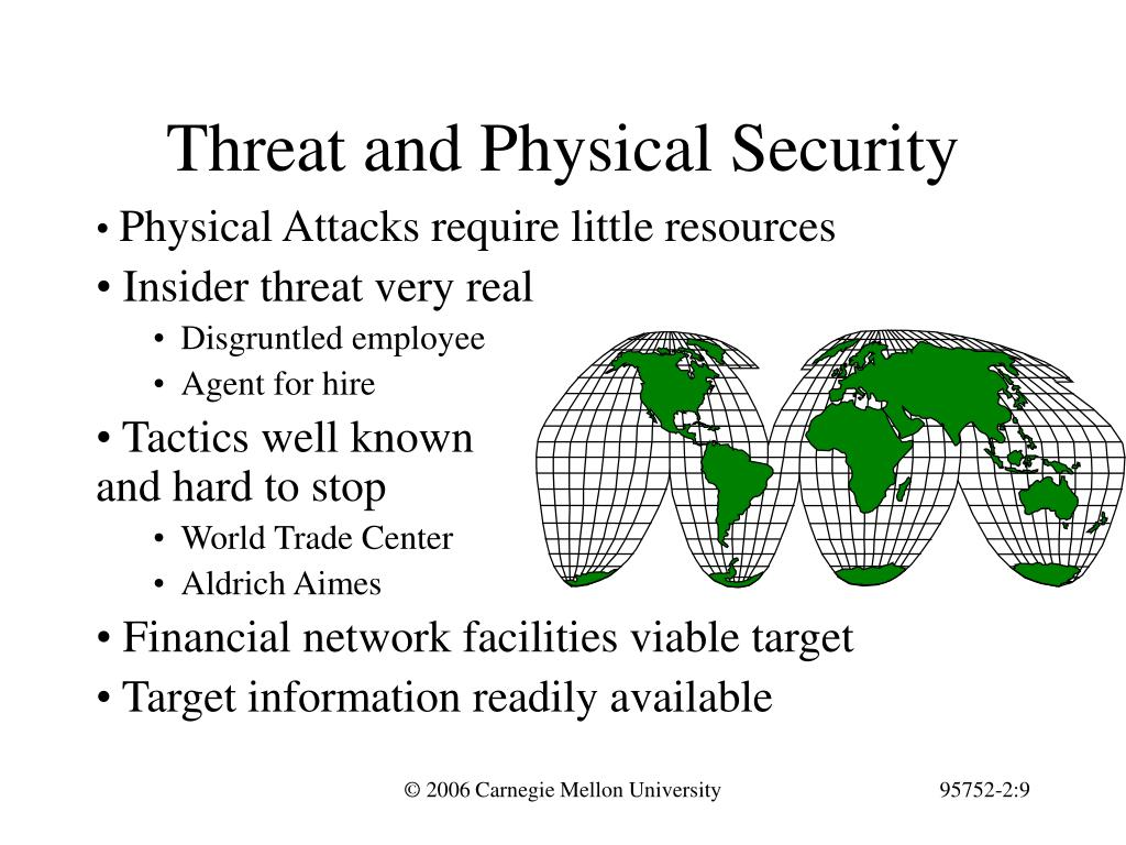 Threat and Physical Security