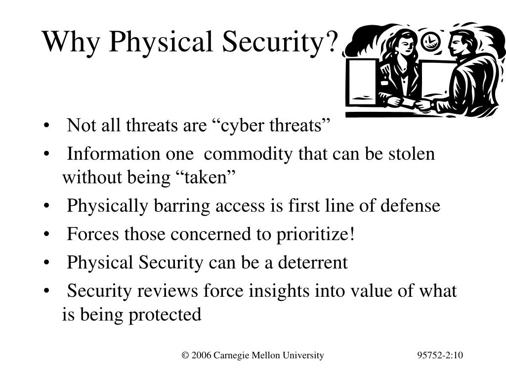 Why Physical Security?