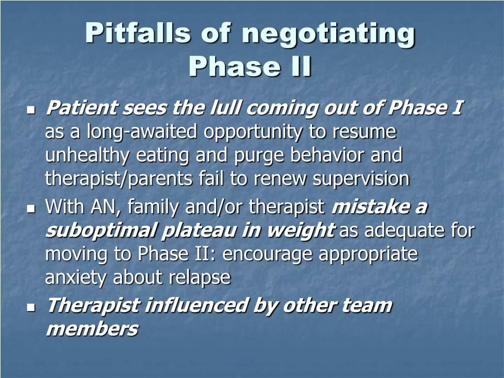 Pitfalls of negotiating