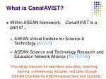 what is canalavist
