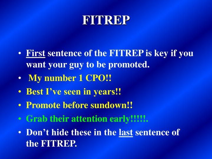 FITREP