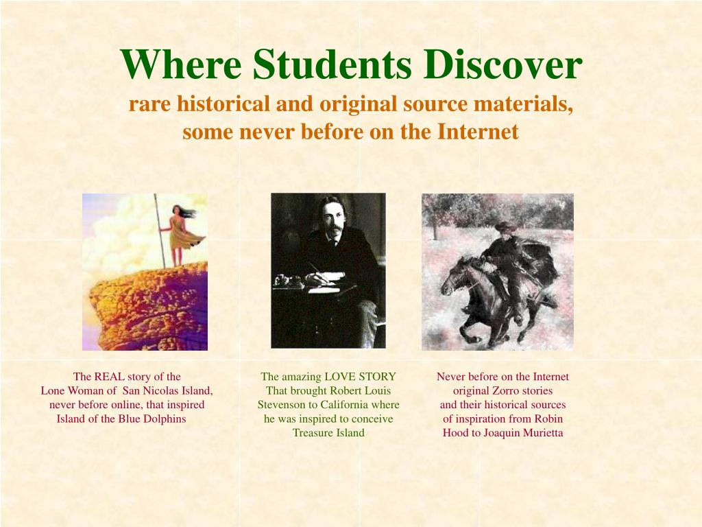 Where Students Discover