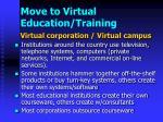 move to virtual education training
