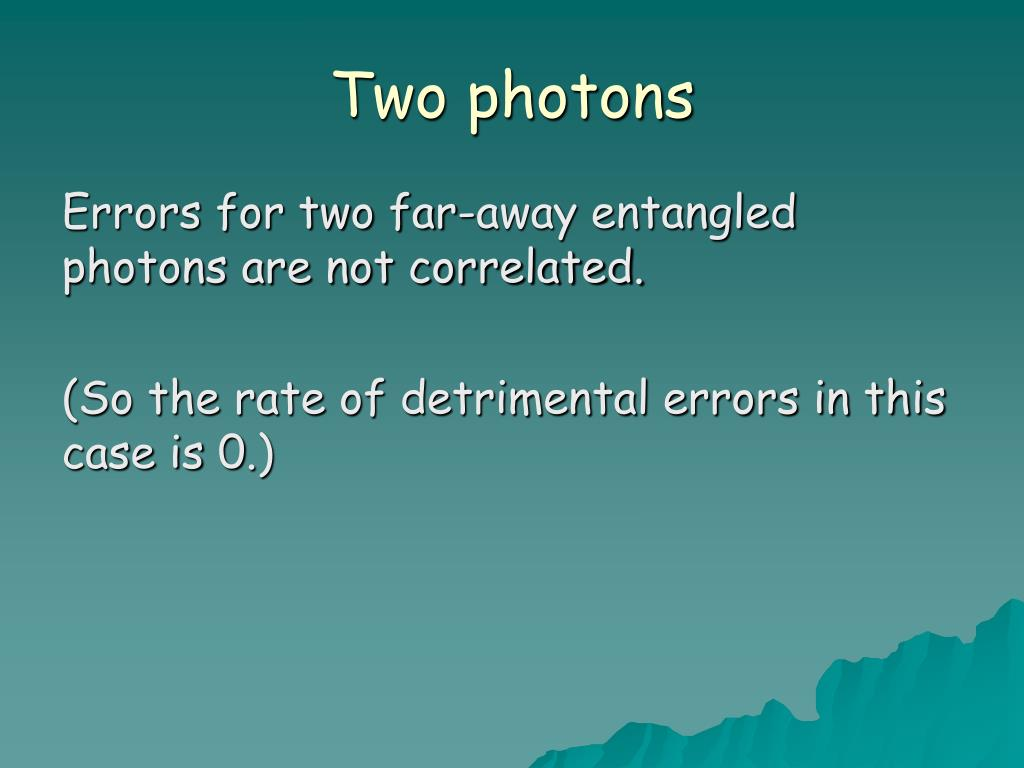 Two photons