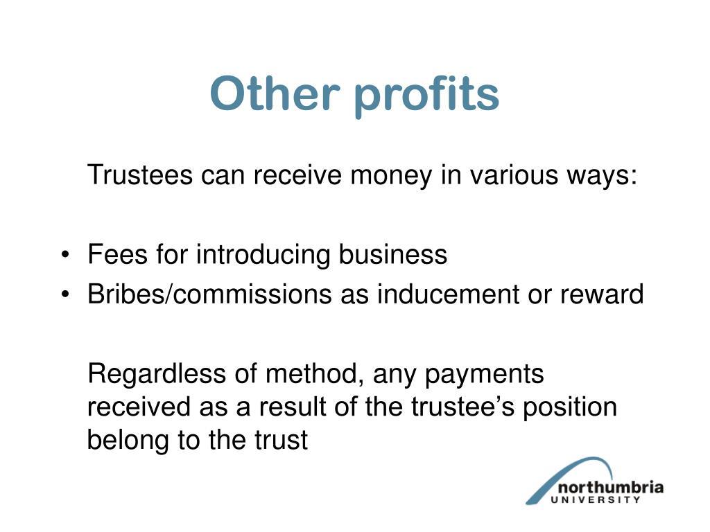 Other profits