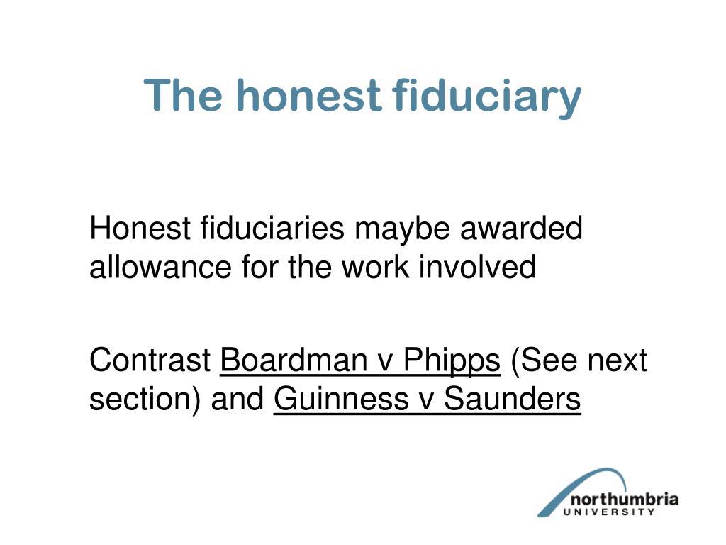 The honest fiduciary