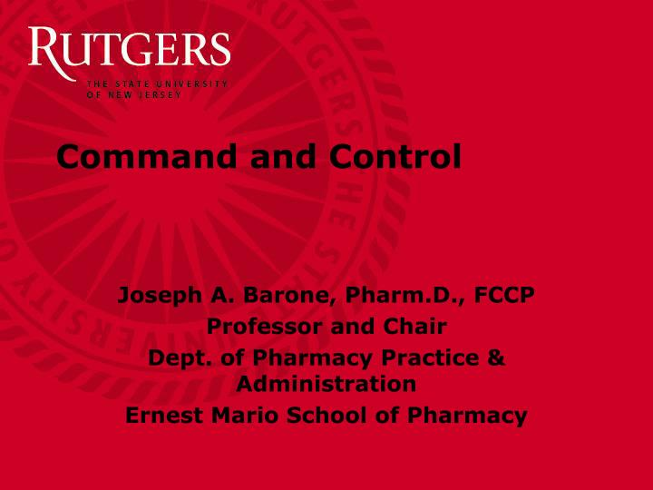 command and control n.