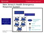 new jersey s health emergency response system