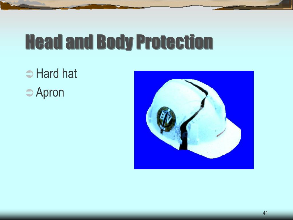 Head and Body Protection