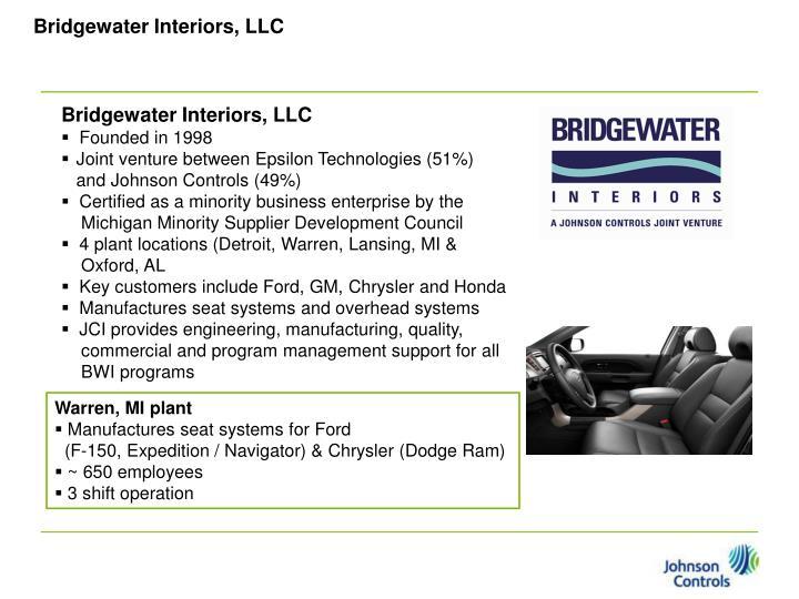 Bridgewater Interiors, LLC