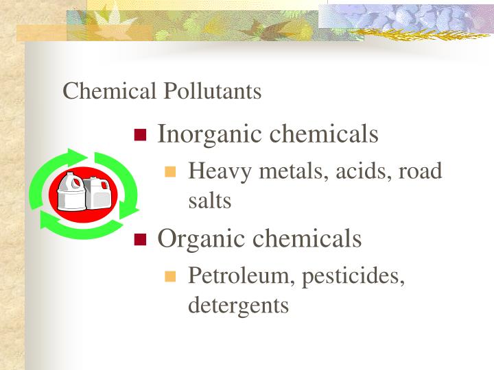 Chemical Pollutants